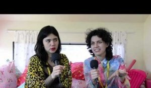 Interview: CSS Interview at Big Day Out (Melbourne, 2014)