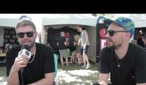 Hermitude  - Interview at Lollapalooza 2015