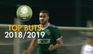 Top 3 buts Red Star FC | saison 2018-19 | Domino's Ligue 2