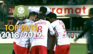 Top 3 buts AS Nancy Lorraine | saison 2018-19 | Domino's Ligue 2