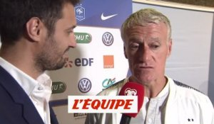Deschamps «On va devoir s'adapter» - Foot - Bleus