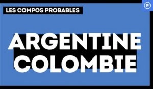 Argentine - Colombie : les compositions probables