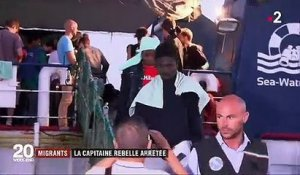 Migrants : la capitaine du Sea-Watch a été interpellée à Lampedusa