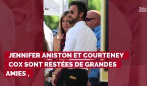 Courteney Cox et Jennifer Aniston, réunie pour la fête nationa...