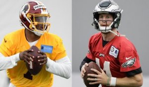 Which NFC East QB has the best supporting cast?