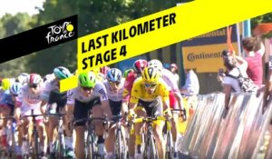 Last kilometer / Flamme rouge - Étape 4 / Stage 4 - Tour de France 2019