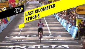 Last kilometer / Flamme rouge - Étape 8 / Stage 8 - Tour de France 2019