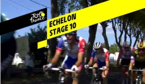Bordures / Echelon - Étape 10 / Stage 10 - Tour de France 2019