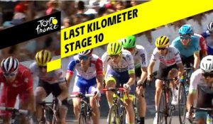 Last kilometer / Flamme rouge - Étape 10 / Stage 10 - Tour de France 2019