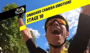 Onboard camera Emotions - Étape 10 / Stage 10 - Tour de France 2019