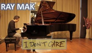 Ed Sheeran & Justin Bieber - I Don't Care Piano by Ray Mak