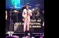 "On a posé 5 questions à Nile Rodgers du groupe ""Chic"" lors du Nice Jazz Festival"