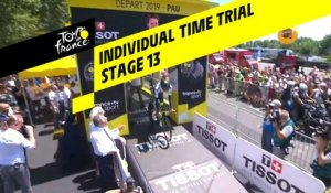 Course contre-la-montre / Individual Time Trial - Étape 13 / Stage 13 - Tour de France 2019