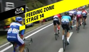 Zone de ravitaillement / Feeding zone - Étape 14 / Stage 14 - Tour de France 2019