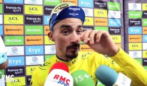 "Tour de France : ""Je me concentre de plus en plus"" confie Alaphilippe"