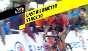 Last kilometer / Flamme rouge - Étape 20 / Stage 20 - Tour de France 2019