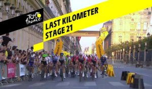 Last kilometer / Flamme rouge - Étape 21 / Stage 21 - Tour de France 2019
