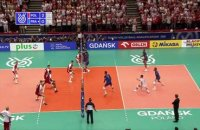 La France battue par la Pologne - Volley - TQO (H)