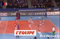 La France remporte son premier match face à la Bulgarie - Volley - Euro (F) - Bleues