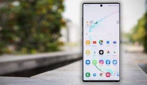 Test du Samsung Galaxy Note 10+