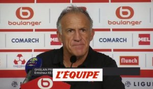 Printant «On a perdu logiquement» - Foot - L1 - ASSE