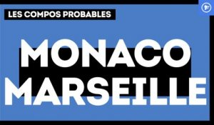 AS Monaco-OM : les compos probables