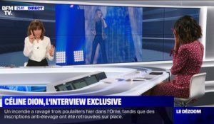 Céline Dion: l'interview exclusive - 18/09