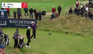 Alfred Dunhill Links Championship - Tour 4 : La réaction de Victor Perez