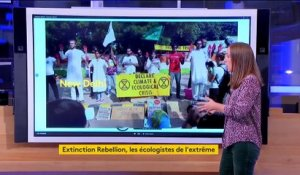 Extinction Rebellion : un mouvement écologiste discret aux actions spectaculaires