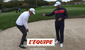 Comment sortir d'un bunker ?  - Golf - Open de France