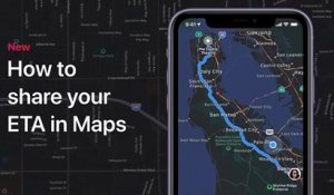 How to share your ETA in Maps on your iPhone, iPad, or iPod touch – Apple Support