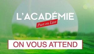 L'Académie part en live ! (n°6) : halte au slice ! (replay)