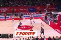 Les 20 points de Livio Jean-Charles face à Belgrade - Basket - Euroligue - 8e j.