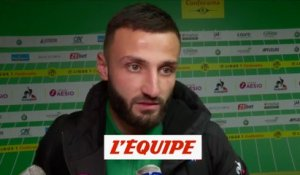 Honorat «Un bon point» - Foot - L1 - ASSE