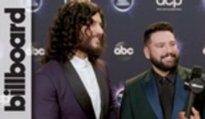 Dan + Shay React to Winning Favorite Country Duo or Group & Country Song Awards | AMAs 2019