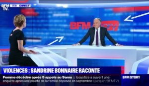 Story 2 : Violences: Sandrine Bonnaire raconte - 28/11