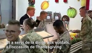 Visite surprise de Donald Trump en Afghanistan pour Thanksgiving