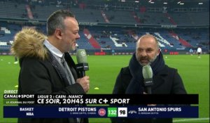 Pascal Dupraz sur le Ballon d'Or et Caen / Nancy