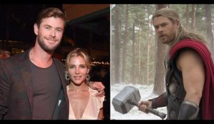 Chris Hemsworth's wife Elsa Pataky bans Thor hammers from their home
