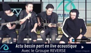 Interview groupe Reverse bassin d'Arcachon
