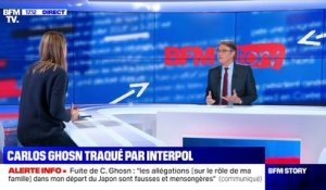 Story 1 : Carlos Ghosn traqué par Interpol - 02/01