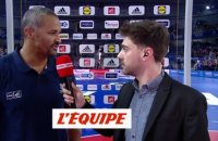 Dinart «On a su se rendre le match facile» - Hand - Bleus
