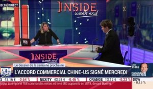 L'accord commercial Chine-US signé mercredi - 10/01