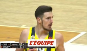 Les 16 points de De Colo contre l'Asvel - Basket - Euroligue (H) - Fenerbahçe