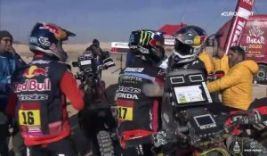 Dakar 2020 Stage 12 : Les temps forts - motos