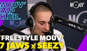 "7 JAWS & SEEZY : ""Freestyle Mouv'"" (Live @Mouv' Rap Club)"