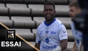 TOP 14 - Essai Filipo NAKOSI (CO) - Bordeaux-Bègles - Castres - J17 - Saison 2019/2020