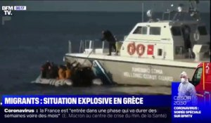 Migrants: situation explosive en Grèce
