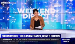 Coronavirus: 130 cas en France, dont 9 graves - 01/03