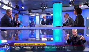 Municipales : la classe politique réclame le report du second tour